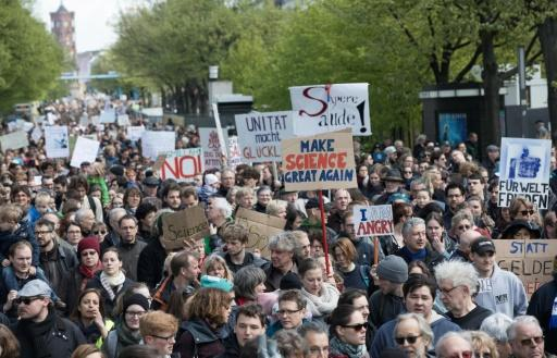 """March for Science"" in Berlin"