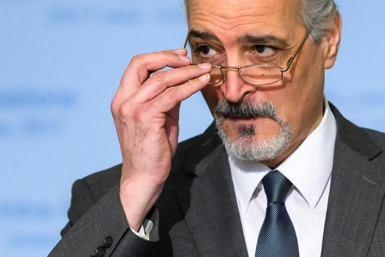 Syria's chief negotiator Bashar al-Jaafari was part of the peace talks in Geneva, which ended with 'incremental' progress