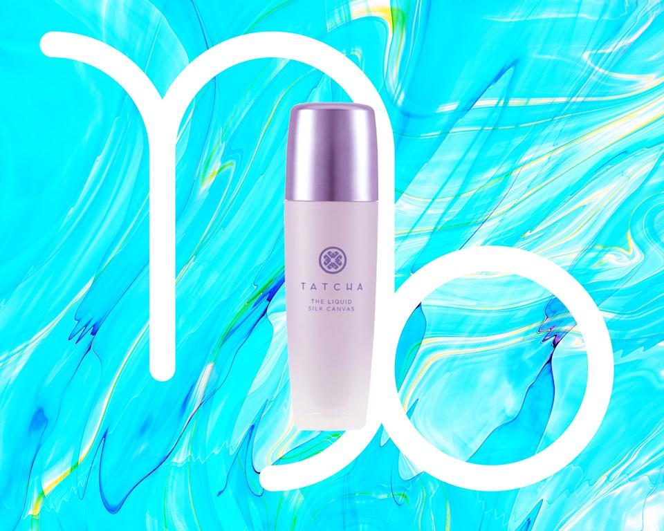 """<h1 class=""""title"""">September Capricorn Horoscope - Tatcha Mini Liquid Silk Canvas- Featherweight Protective Primer</h1><div class=""""caption""""><em>All products featured on Allure are independently selected by our editors. However, when you buy something through our retail links, we may earn an affiliate commission.</em></div><cite class=""""credit"""">Courtesy of brand / Allure: Rosemary Donahue</cite>"""