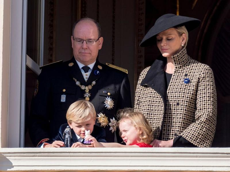 Prince Albert, Princess Charlene, Prince Jacques and Princess Gabriella | Arnold Jerocki/Getty