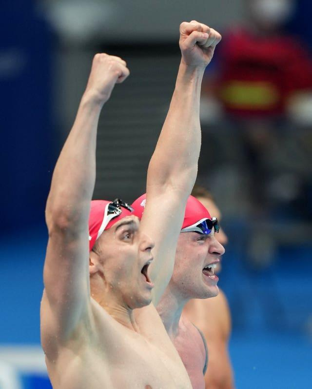 James Guy goes in search of a third gold medal on Sunday