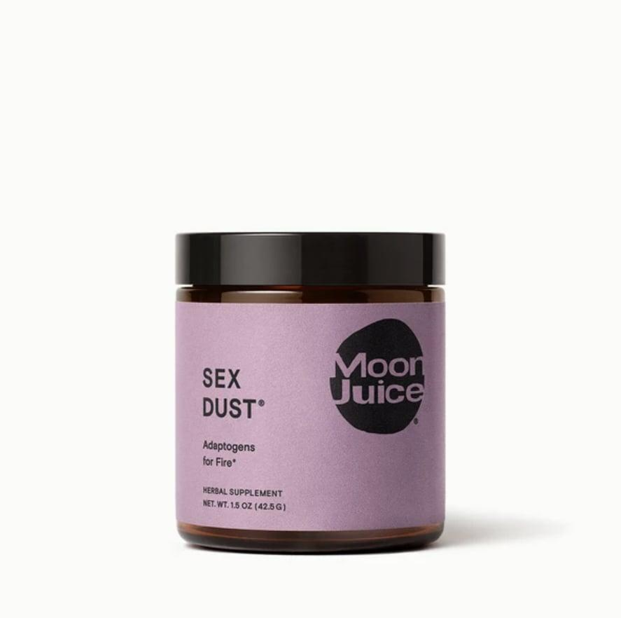 <p><span>Moon Juice Sex Dust</span> ($29) has a blend of ingredients like cacao and maca, that help target stress and get you relaxed for the bedroom.</p>