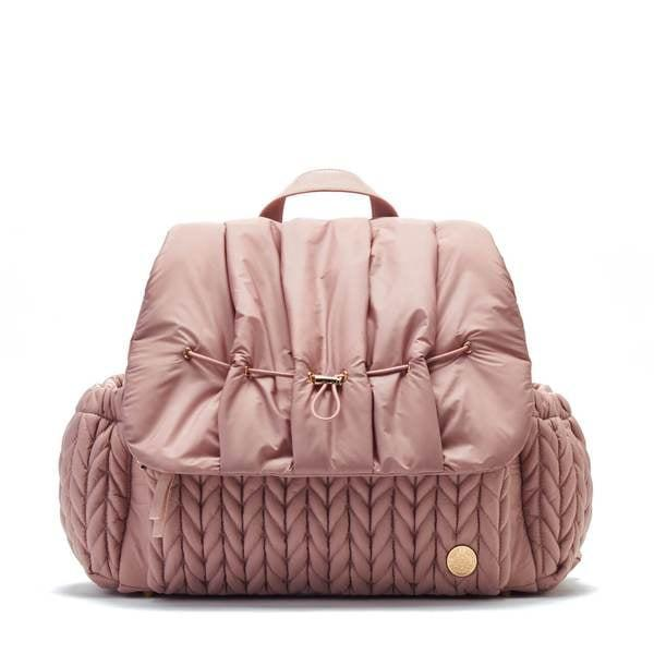 <p>The <span>Levy Backpack Dusty Rose</span> ($179) has a surpassingly large number of storage compartments - 9 to be exact! Carry it like a traditional tote or utilize the backpack straps.</p>
