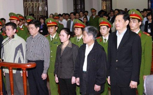 Former Vinashin executives are sentenced in Vietnam in March 2012