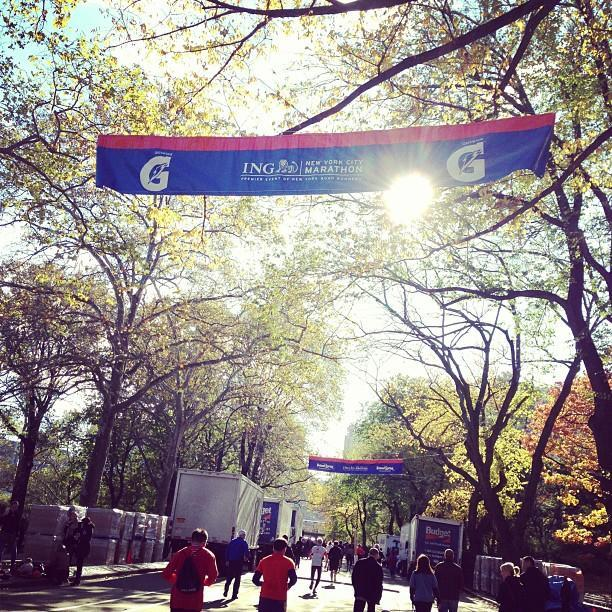 The race that kinda was. #unofficial #nycmarathon