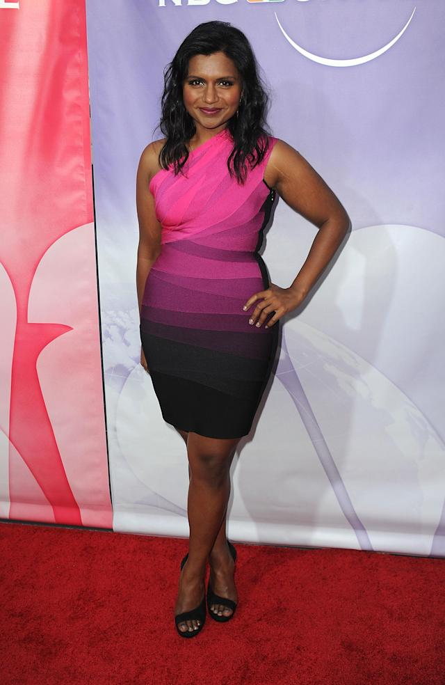 BEVERLY HILLS, CA - JULY 30: Actress Mindy Kaling arrives at NBC Universal's 2010 TCA Summer Party at the Beverly Hilton Hotel on July 30, 2010 in Beverly Hills, California. (Photo by Frazer Harrison/Getty Images)
