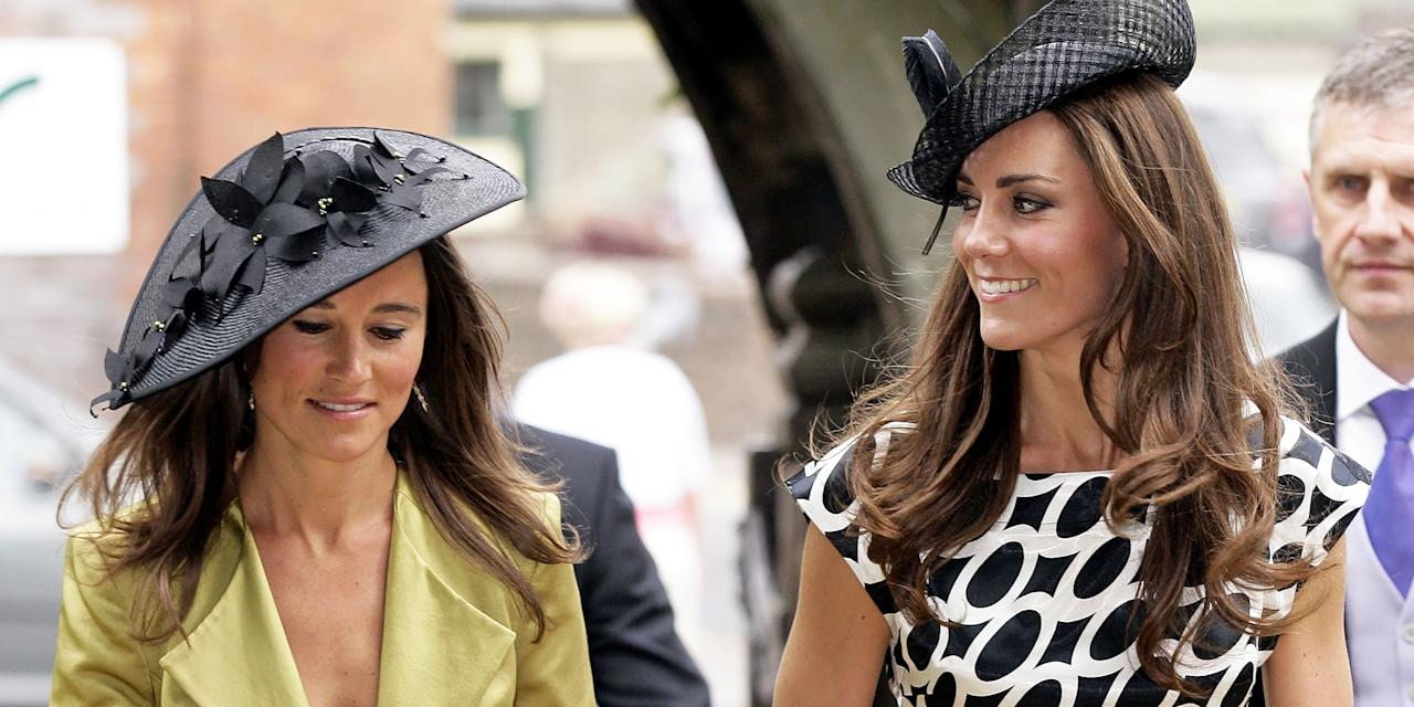 "<p>Kate Middleton and Pippa Middleton make my list as one of the most famous and well-dressed sister duos in the world. Even though Kate, as the Duchess of Cambridge, <a rel=""nofollow"" href=""https://www.marieclaire.com/fashion/news/g3203/kate-middleton-best-fashion-moments/"">has to dress to impress</a>, her lil sis Pippa is <a rel=""nofollow"" href=""https://www.marieclaire.com/fashion/g22049042/pippa-middleton-style/"">equally as fashionable</a>. (Remember when her backside almost stole the spotlight <a rel=""nofollow"" href=""https://people.com/royals/pippa-middleton-is-the-world-s-most-famous-bridesmaid/"">at Kate's wedding</a>?) Though the two now lead different lives, Pippa <a rel=""nofollow"" href=""https://www.eonline.com/news/851536/inside-pippa-and-kate-middleton-s-relationship-how-the-sisters-have-remained-close-even-when-royalty-got-in-the-way"">has said</a> that she and Kate have a ""normal, sisterly relationship"" and like most sisters, they've worn similar outfits in the most serendipitous manner. Need proof? Ahead, 20 times Kate and Pippa #twinned so hard, I could hardly tell them apart. Don't ask me who wore the outfits better, though. I won't play favorites.</p>"
