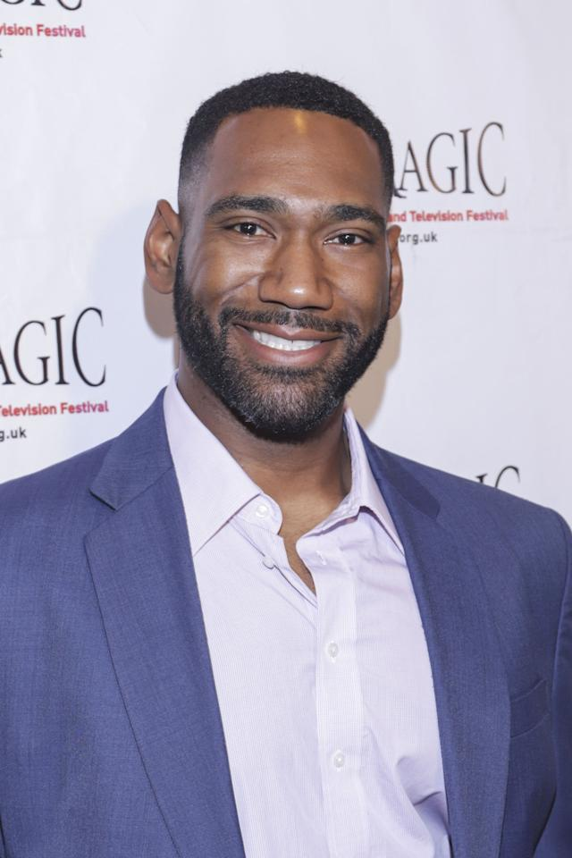 <p>Former offensive tackle Anthony Alabi (who played for the Miami Dolphins and the Kansas City Chiefs until he retired from the NFL to pursue acting) costars as Moz McKellan, Cocoa's husband and a former tight end. </p>