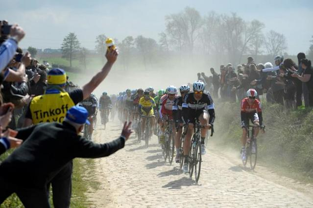 The much loved Paris-Roubaix cycling race has been postponed (AFP Photo/Eric Feferberg)