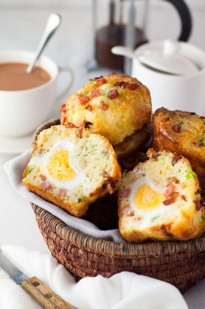 """<p><em>Psst! </em>There's a delicious surprise hidden inside these savory muffins. </p><p><em><a href=""""http://www.recipetineats.com/bacon-egg-breakfast-muffins/"""" rel=""""nofollow noopener"""" target=""""_blank"""" data-ylk=""""slk:Get the recipe from RecipeTin Eats »"""" class=""""link rapid-noclick-resp"""">Get the recipe from RecipeTin Eats »</a></em></p><p><strong>RELATED:</strong> <a href=""""https://www.goodhousekeeping.com/food-recipes/healthy/g4075/healthy-muffin-recipes/"""" rel=""""nofollow noopener"""" target=""""_blank"""" data-ylk=""""slk:15 Healthy Muffins That Taste as Good as Cupcakes"""" class=""""link rapid-noclick-resp"""">15 Healthy Muffins That Taste as Good as Cupcakes</a></p>"""
