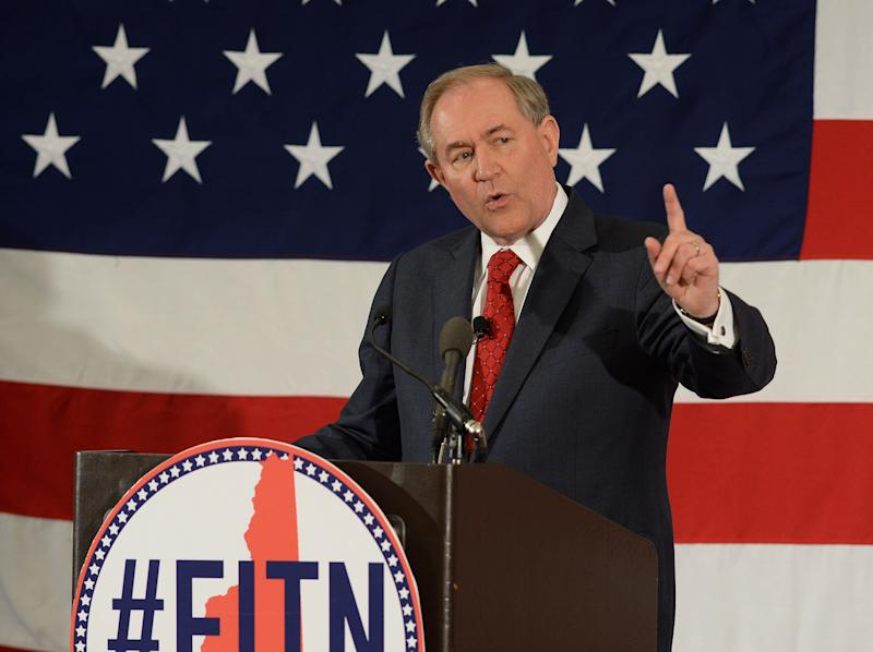 """Gilmore <a href=""""http://www.huffingtonpost.com/entry/jim-gilmore-quits-presidential-race_us_56144300e4b0fad15919fc2c"""">suspended his campaign</a> on Feb. 12, 2016."""