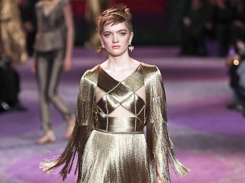 Maria Grazia Chiuri inspired by motherhood for latest Dior couture line