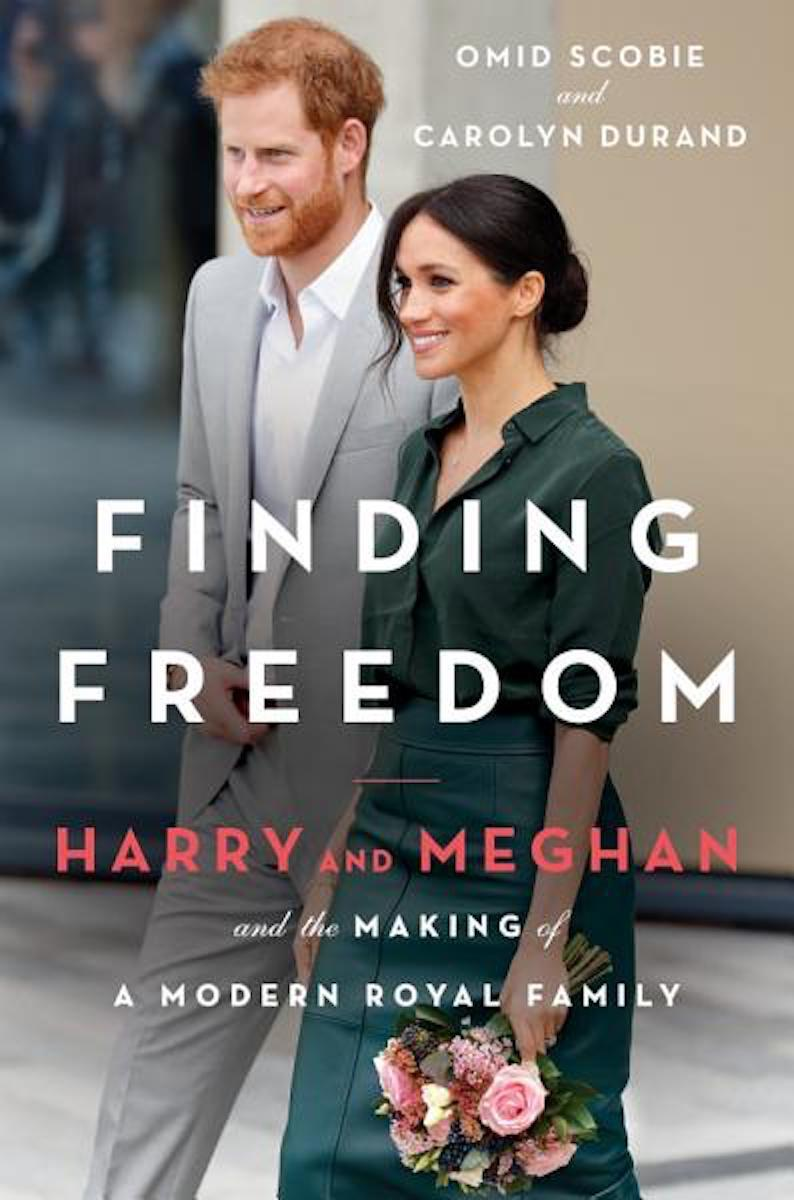 finding freedom book cover featuring prince harry and meghan markle