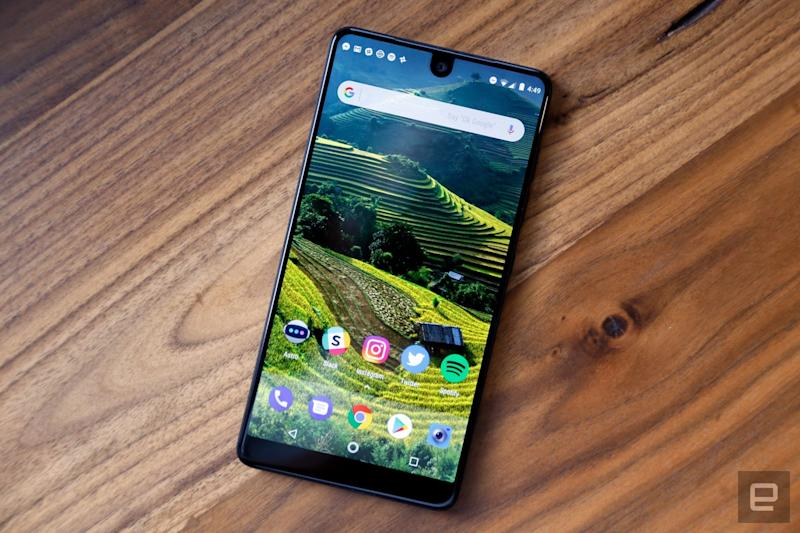 Essential reportedly cancels next phone, considers sale