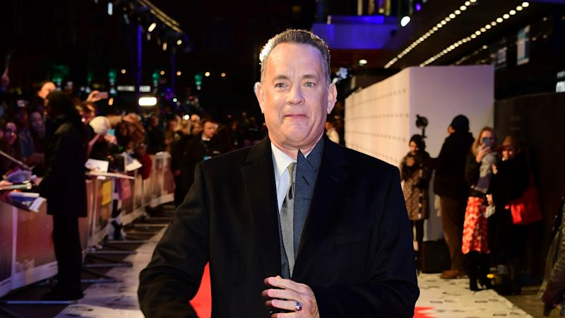 Tom Hanks thanks 'helpers' as he remains in Covid-19 isolation in Australia