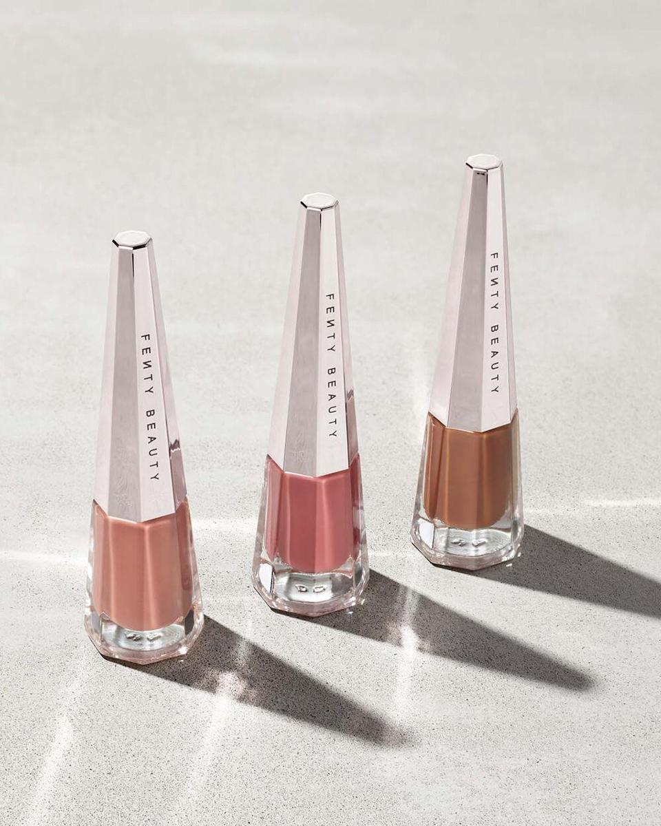 "<br><br><strong>Fenty Beauty</strong> Stunna Boss Nudes Longwear Fluid Lip Color Trio, $, available at <a href=""https://go.skimresources.com/?id=30283X879131&url=https%3A%2F%2Ffave.co%2F340YqGe"" rel=""nofollow noopener"" target=""_blank"" data-ylk=""slk:Fenty Beauty"" class=""link rapid-noclick-resp"">Fenty Beauty</a>"