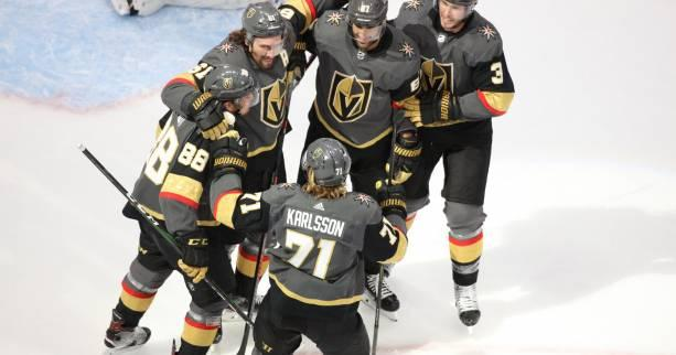 Hockey - NHL - NHL : Roussel et les Canucks impuissants contre les Golden Knights