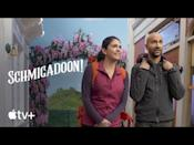 """<p><strong>Watch from Friday (16th) on Apple TV+</strong></p><p>An all-star cast, action packed Broadway-style musical comedy series is headed to screens this week, starring Cecily Strong, Keegan-Michael Key, Fred Armisen, Dove Cameron, Jaime Camil, Kristin Chenoweth and Alan Cumming, to name a few.</p><p>After a flailing couple embark on a trip to reignite the spark in their relationship, they accidentally stumble across the magical 1940s town of Schmigadoon, and soon discover that the only way to leave is to 'find true love'. </p><p><a href=""""https://youtu.be/yKG0RodrzVo"""" rel=""""nofollow noopener"""" target=""""_blank"""" data-ylk=""""slk:See the original post on Youtube"""" class=""""link rapid-noclick-resp"""">See the original post on Youtube</a></p>"""