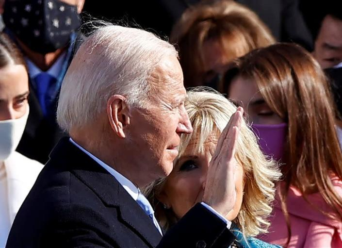 Inauguration of Joe Biden as the 46th President of the United States in Washington