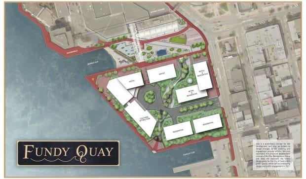 This is an architect's preliminary concept for the former Coast Guard site.