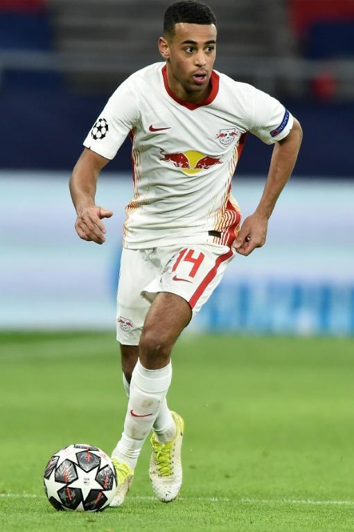 US midfielder Adams is hoping to help Leipzig move within a point of Bayern