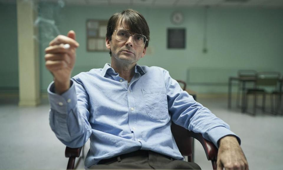 Guess Who … David Tennant as serial killer Dennis Nilsen.