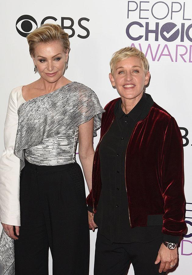 Is it over? Portia and Ellen married in 2008 after four years together. Source: Getty