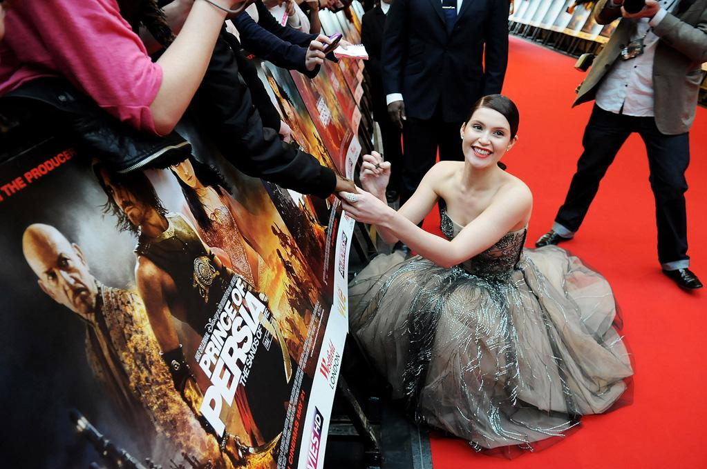 "<a href=""http://movies.yahoo.com/movie/contributor/1809853072"">Gemma Arterton</a> at the London premiere of <a href=""http://movies.yahoo.com/movie/1810041991/info"">Prince of Persia: The Sands of Time</a> - 05/09/2010"