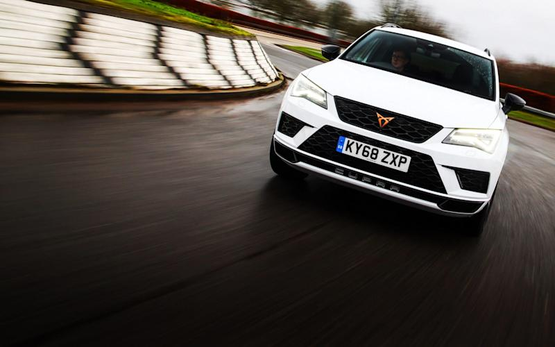 Keen drivers can use most of the Cupra's capabilities without being daft - Jakob Ebrey