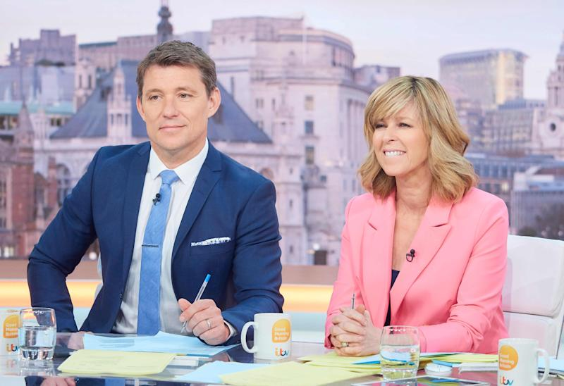 Kate Garraway revealed nurses will put 'GMB' on TV for husband Derek Draper, who is in a coma. (ITV)