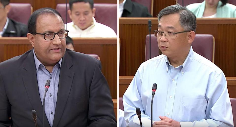 Communications and Information Minister S Iswaran and Health Minister Gan Kim Yong failed to give a proper account of the SingHealth cyberattack, says veteran journalist PN Balji. PHOTO: Screengrab from Gov.sg YouTube channel