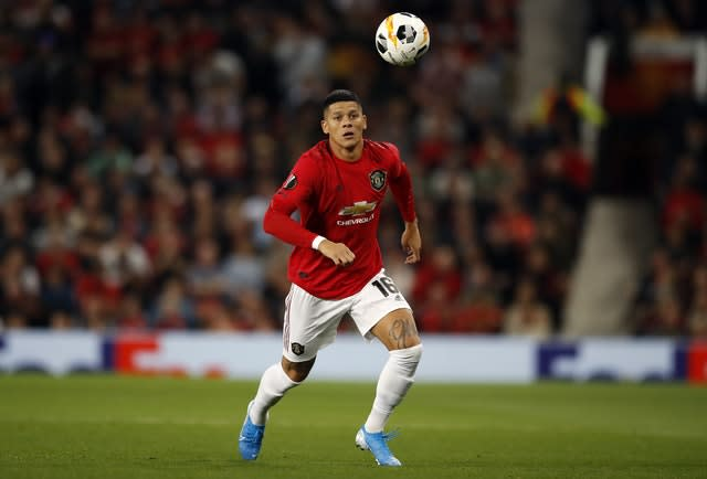 """Marcos Rojo has been described as """"a winner"""" by United manager Ole Gunnar Solskjaer. (Martin Rickett/PA)"""