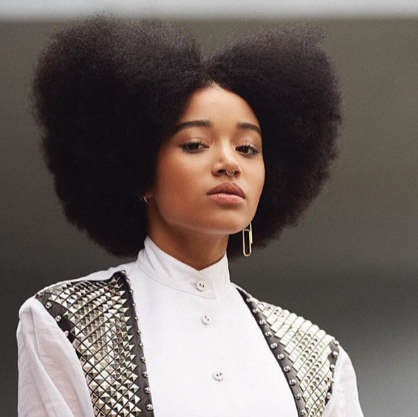 Amandla Stenberg backed out of being considered for a role in