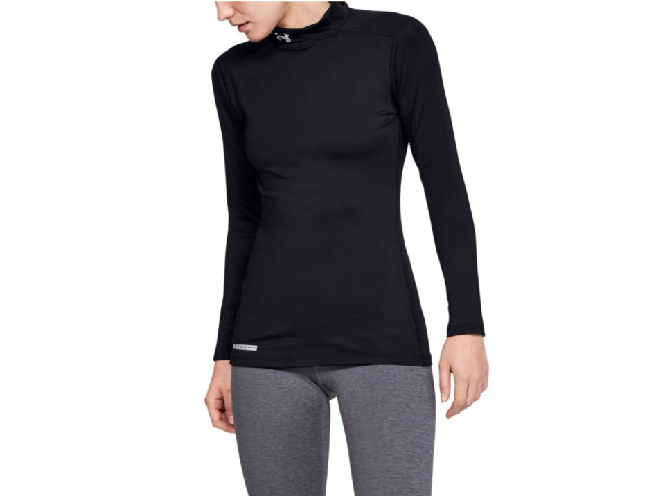 Women's cold weather activewear from Under Armour is on sale for up to 40% off during Amazon's Prime Day