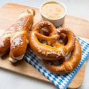 "<p>Aldi customers look forward to any time their favorite grocery store celebrates its German roots by stocking shelves with specialty items from its brand Deutsche Küche. Usually falling around the festivities of Oktoberfest and Easter, these Bavarian-izing of Aldi's shelves often include <a href=""https://www.aisleofshame.com/next-aldi-german-week/"" rel=""nofollow noopener"" target=""_blank"" data-ylk=""slk:culinary delights"" class=""link rapid-noclick-resp"">culinary delights</a> like soft pretzels, schnitzel, apple strudel, and spaetzle.<br></p>"