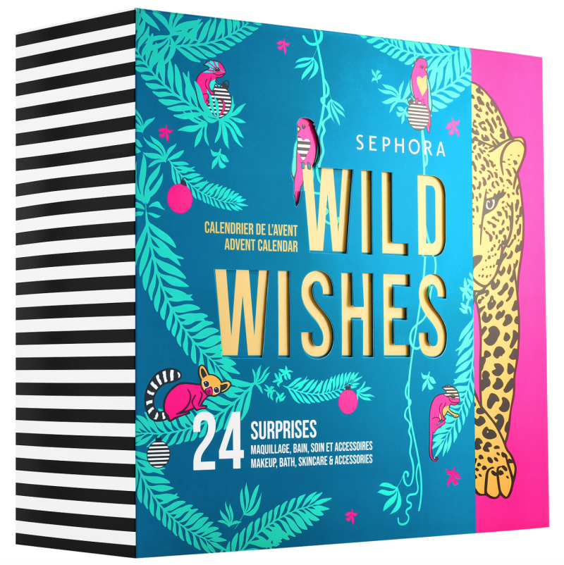 Wild Wishes Advent Calendar. Image via Sephora.