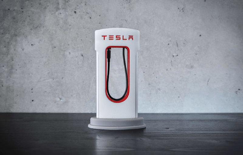 Tesla fanatic? 3D print your own smartphone Supercharger