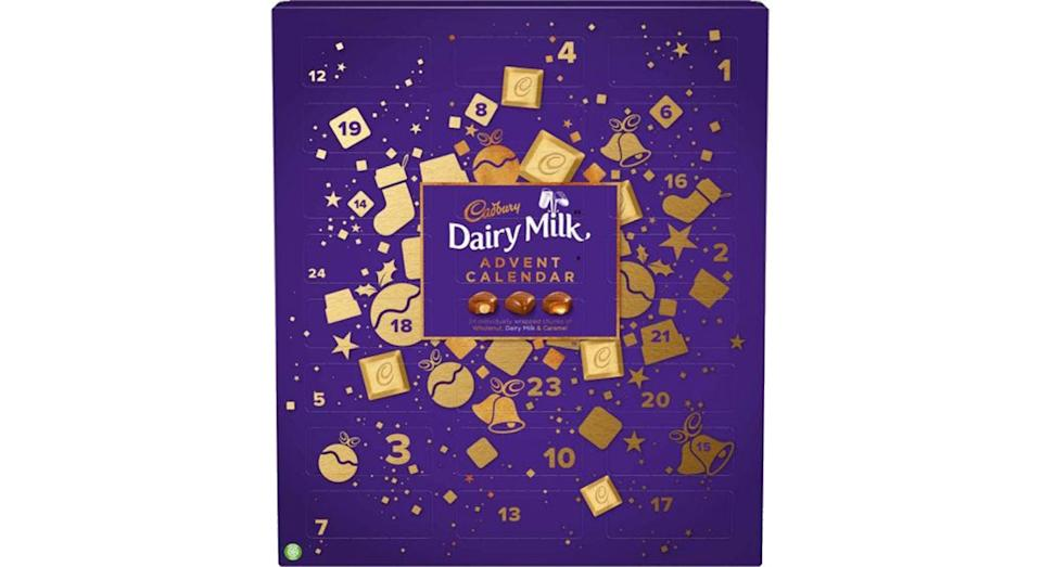 Cadbury Dairy Milk Chunk Advent Calendar