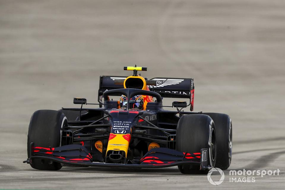 "Trompo de Alex Albon, Red Bull Racing RB16<span class=""copyright"">Charles Coates / Motorsport Images</span>"