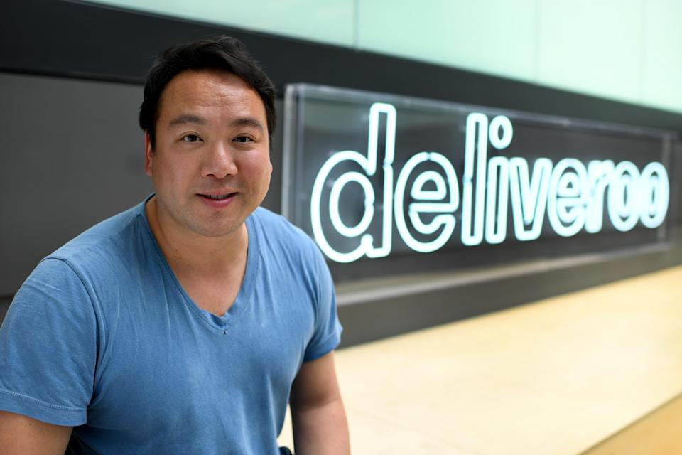 Founder and chief executive of Deliveroo Will Shu faced questions over the new share structure for the company (Parsons Media/Deliveroo/PA)