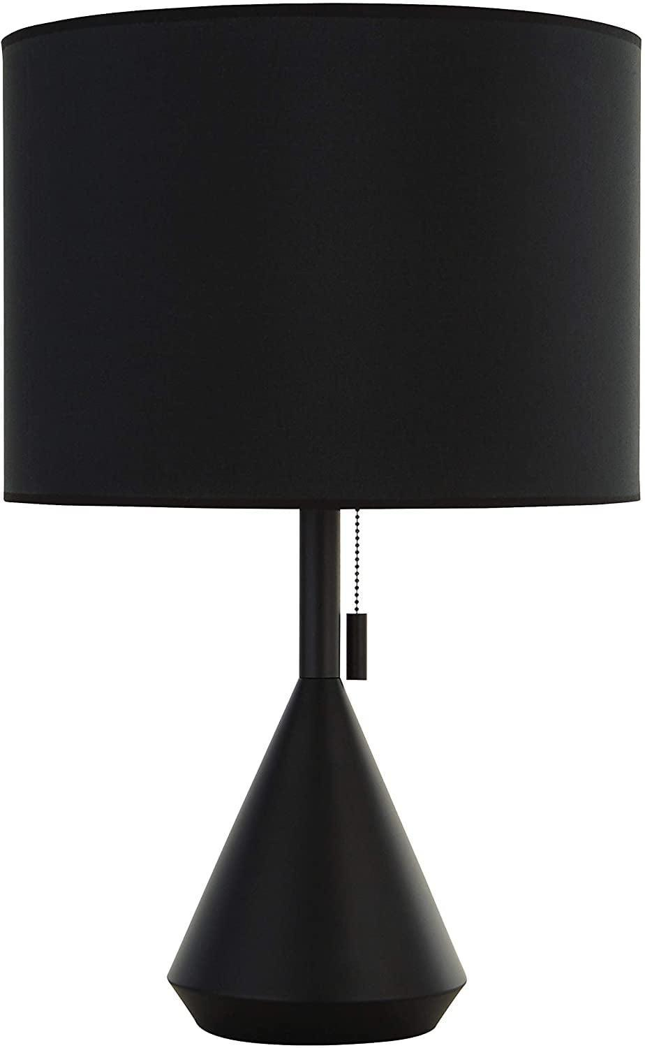 <p>This modern <span>Rivet Modern Pull-Chain Switch For Each Socket Table Lamp</span> ($74) looks so chic.</p>