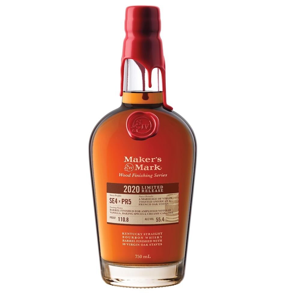 """<p><strong>Maker's Mark </strong></p><p>drizly.com</p><p><strong>$99.99</strong></p><p><a href=""""https://go.redirectingat.com?id=74968X1596630&url=https%3A%2F%2Fdrizly.com%2Fliquor%2Fwhiskey%2Fbourbon%2Fmakers-mark-wood-finishing-series-limited-release%2Fp99394&sref=https%3A%2F%2Fwww.esquire.com%2Ffood-drink%2Fdrinks%2Fg3047%2Fgifts-for-the-modern-whisky-drinker%2F"""" rel=""""nofollow noopener"""" target=""""_blank"""" data-ylk=""""slk:Buy"""" class=""""link rapid-noclick-resp"""">Buy</a></p><p>Maker's Mark may be a <a href=""""https://www.esquire.com/food-drink/drinks/a26802724/best-bourbon-whiskey-brands/"""" rel=""""nofollow noopener"""" target=""""_blank"""" data-ylk=""""slk:bourbon heavyweight"""" class=""""link rapid-noclick-resp"""">bourbon heavyweight</a>, but it isn't afraid to get weird. Its <a href=""""https://www.esquire.com/food-drink/drinks/a28962476/makers-mark-bourbon-wood-finishing-series-2019-release/"""" rel=""""nofollow noopener"""" target=""""_blank"""" data-ylk=""""slk:Wood Finishing series"""" class=""""link rapid-noclick-resp"""">Wood Finishing series</a>, for which the distillery doctored already-matured whiskey with different wooden staves to draw out more flavor and character, is experimental and small batch—and covetable. (That explains the price.)</p>"""
