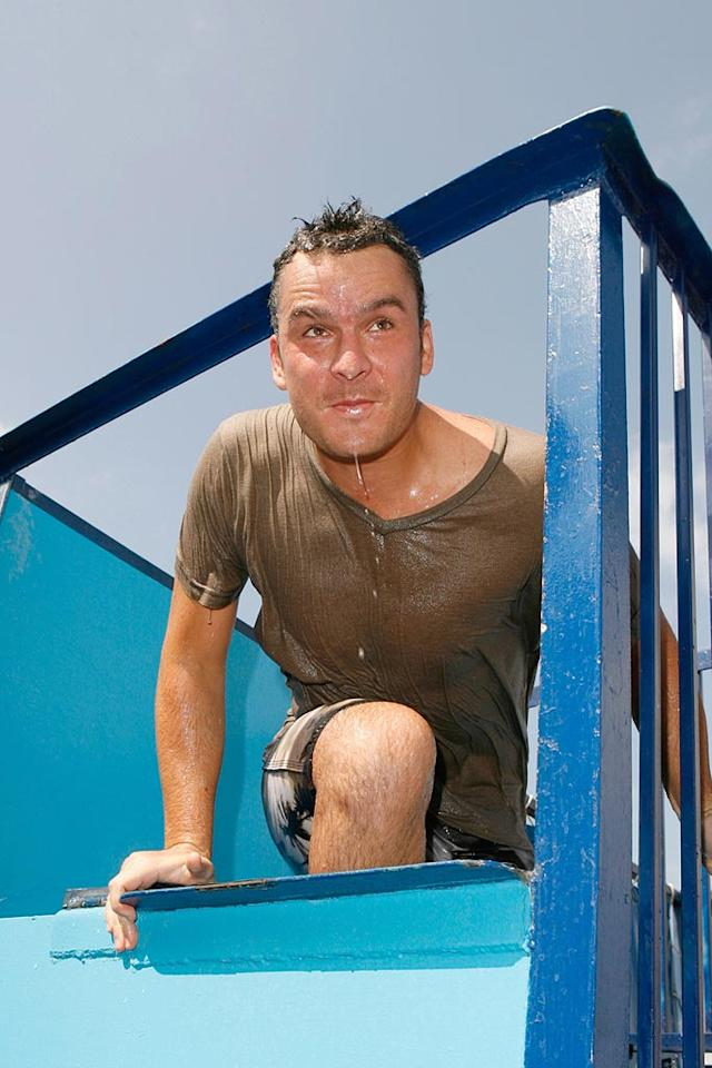 "Balthazar Getty gets dunked for a good cause. Jeff Vespa/<a href=""http://www.wireimage.com"" target=""new"">WireImage.com</a> - September 29, 2007"