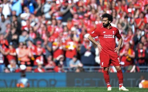 Liverpool's Mohamed Salah in action during English Premier League match between Liverpool FC and Wolverhampton Wanderers - Credit: REX