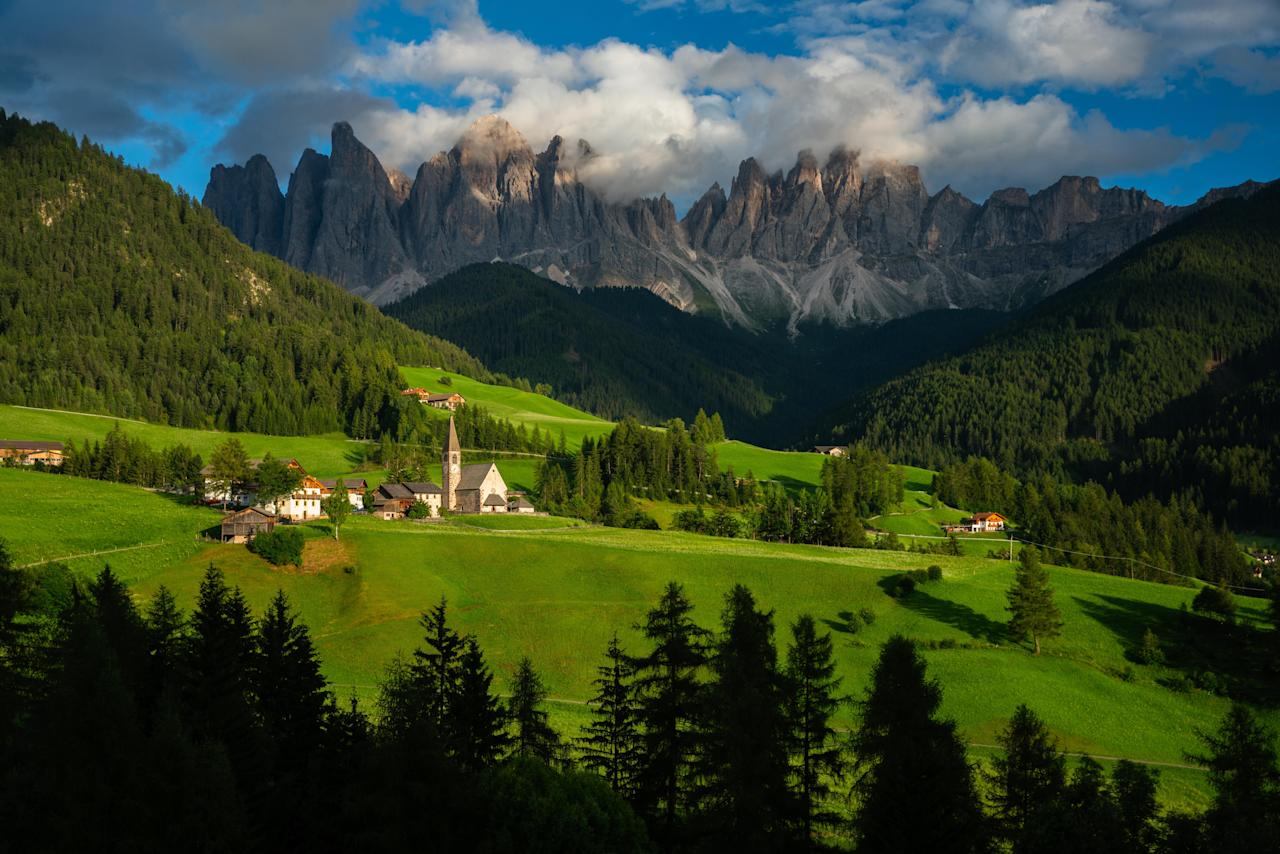 <p>Renting a car is easier than ever, and nowhere will you be happier you did so than for a trip through the winding, whimsical roads of the Tyrol.<br></p><p>Driving north from Venice is the easiest approach given the global availability of direct flights to Venice airport, but driving south from Austria may be an even better route. Innsbruck, Austria, a sports-loving, progressive college town snuggled amid the Alps, connects directly to the Autobahn (A22), which will take you straight into the heart of the Dolomites.</p><p>The most compelling reason for this passage is to see firsthand the shift in cultures as you cross from Austria into Italy. Arguably nowhere else will you experience such a convergence of traditions and witness such impressive linguistics. Most everyone in the area speaks German, Italian and English (and often French, too), but many in the Dolomites also speak a native, ancient language called Ladin. This is the only area in the world where the language is spoken and can be likened to almost nothing else; it is completely distinct and entirely fascinating.<br></p>