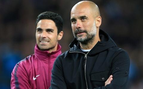 <span>Arteta will take charge of City on the sidelines in the absence of suspended Guardiola</span> <span>Credit: Getty Images </span>