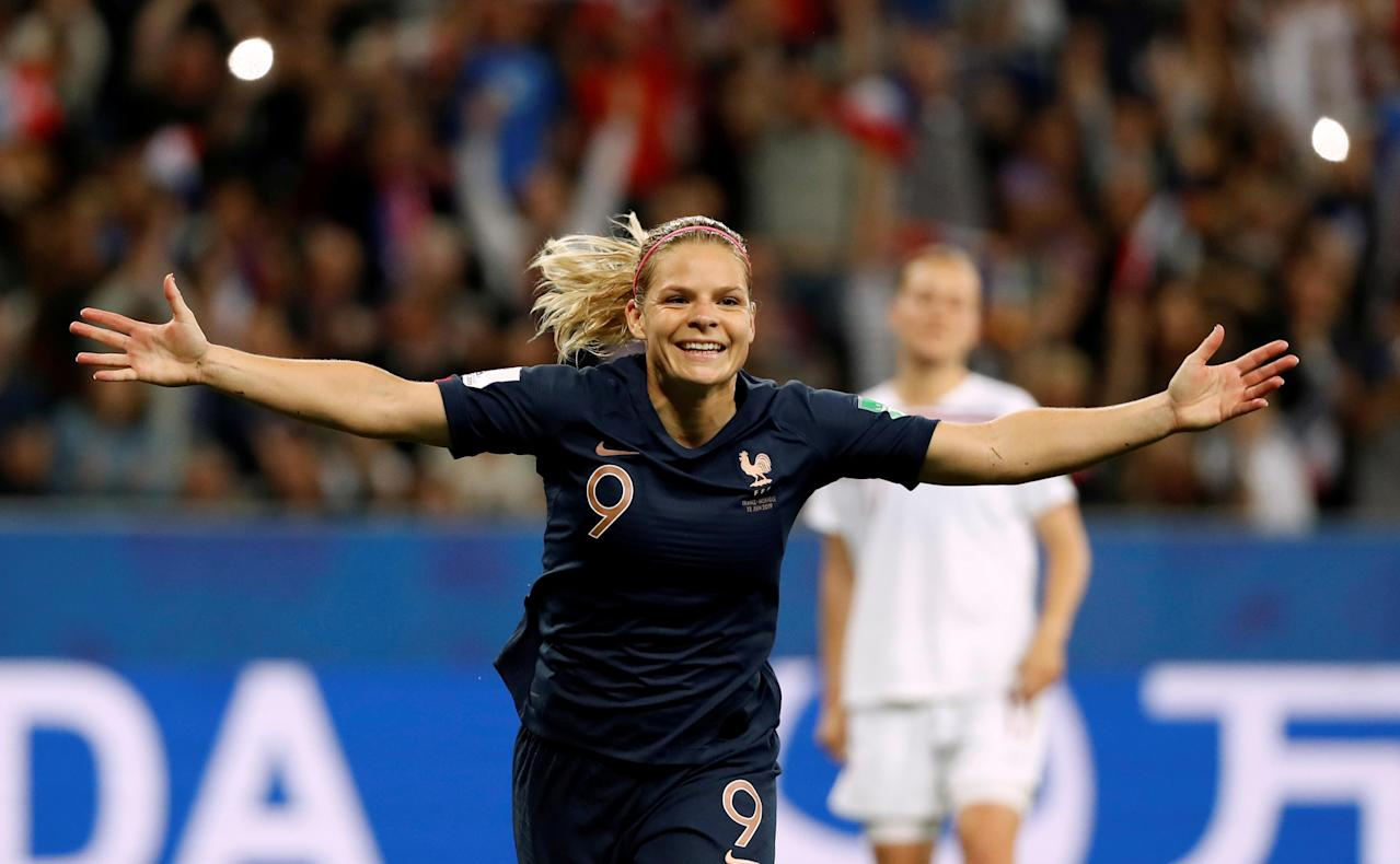 Le Sommer: Still work to do to change perception of women's football