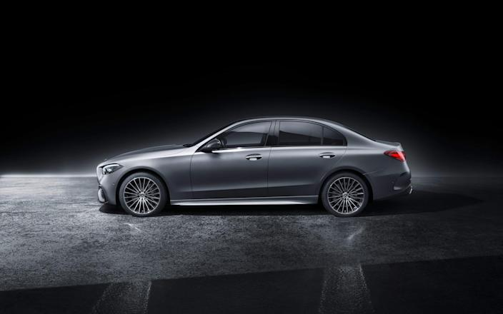 2022 Mercedes Benz C Class sedan._2