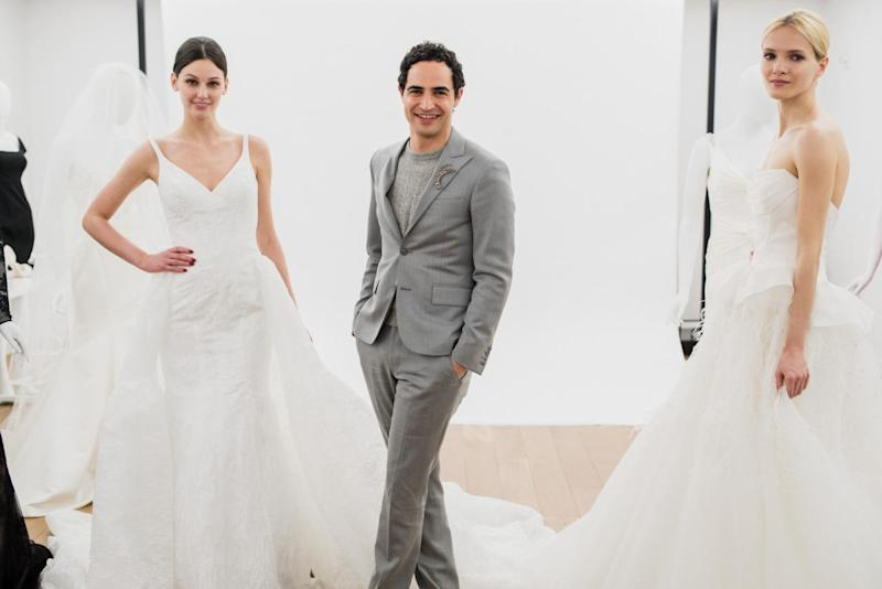 Zac Posen\'s New Collection For David\'s Bridal Brings the Drama