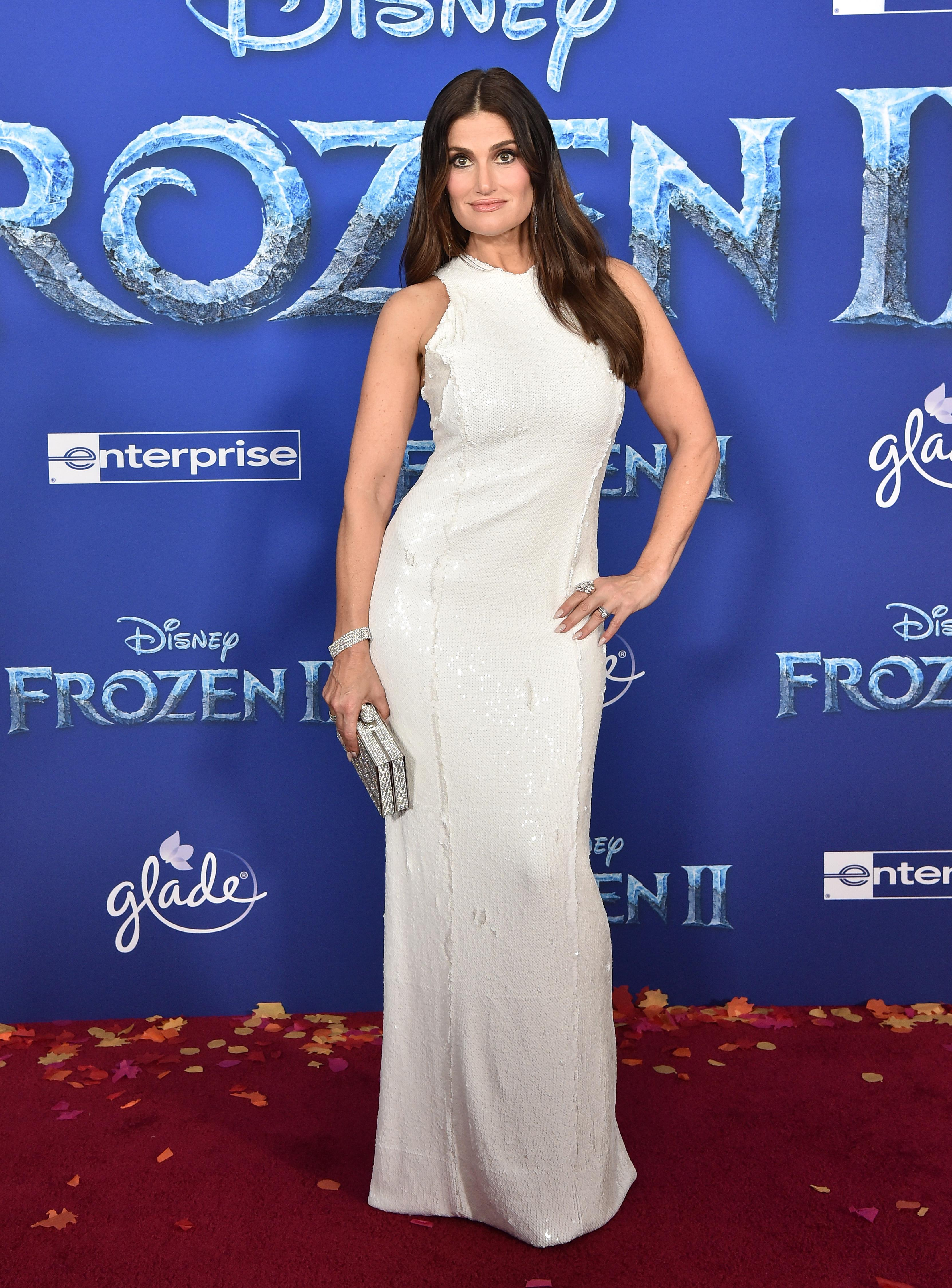 Idina Menzel attends the Premiere of 'Frozen 2'. [Photo: Getty]